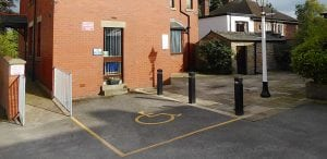 disabled access to dental practice