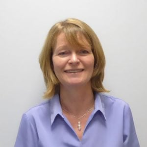 Image of dental receptionist Gill Lockwood
