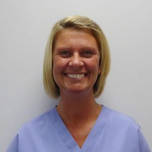 Image of dental nurse and receptionist Michelle Ryan